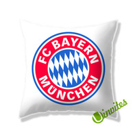 Bayern Munchen Fc Logo Square Pillow Cover