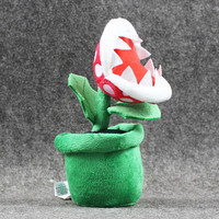 New Game Super Mario Plush Piranha Plant Mario Plush 20CM Anime Toys Soft Toys for Kids Peluche Mario Stuffed Toy Kids Gift