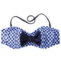 VM Girly Gingham Bandeau Top