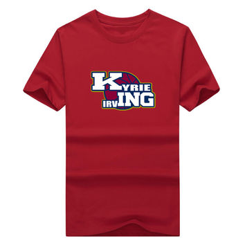 2017 Kyrie Irving KING T-shirt Cleveland Cavaliers Fans GEAR UP for Finals