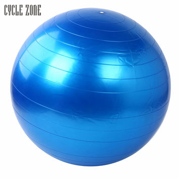 7 Colors High Quality 55cm Exercise Fitness GYM Smooth Yoga Ball Pilates Balance Sport Fitball FREE SHIPPING!