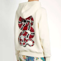 GUCCI Fashion Casual Long Sleeve Pullover Sweater Hoodie White G