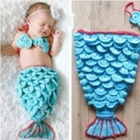 Handmade Mermaid Baby Set