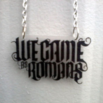 We Came As Romans Inspired Necklace by BurritoPrincess on Etsy