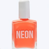 Neon Nail Polish in Crazy Coral