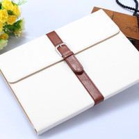 Case For Apple iPad 2 cover for iPad 3 Protective case for iPad 4 Retro Briefcase Style for ipad 2/3/4 9.7inch free shipping