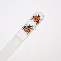Czech Republic Medium Nail File Hand Painted Ladybugs