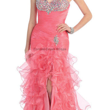 SALE !! EVENING RED CARPENT GALA GOWN LONG PARTY DRESS UNDER $100 BEAUTY PAGEANT