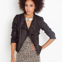 Unzipped Jacket in What's New at Nasty Gal