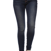 Bullhead Denim Co Gryphin Dark Mid Rise Skinniest Jeans at PacSun.com