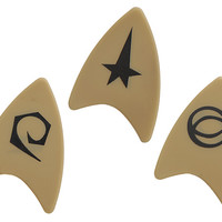 Star Trek Starfleet Guitar Pick Set