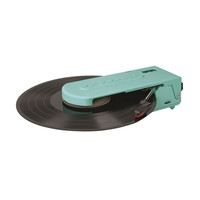 Portable Mini Record Player in Turquoise