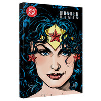 Wonder Woman No 128 Cover Stretched Canvas Wall Art