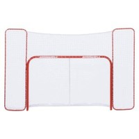 Winnwell Pro Form 72in. Regulation Hockey Net w/ QuickNet Mesh System and Backstop