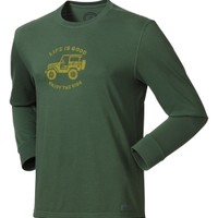 Life is good Men's Stamped Off Road Crusher T-Shirt