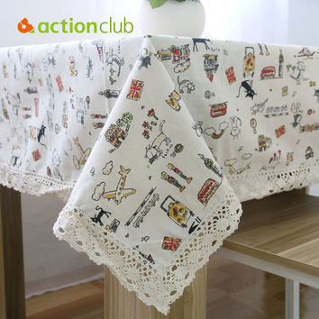 2016 New Arrival Table Cloth High Towel High Quality Lace Tablecloth Decorative Elegant Table Cloth Linen Table Cover HH1536