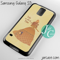 beauty and the beast tale as old as time Phone case for samsung galaxy S3/S4/S5