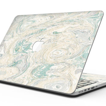 Slate Marble Surface V25 - MacBook Pro with Retina Display Full-Coverage Skin Kit