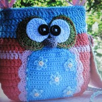 Most beautiful and unique owl purse,get one for yourself or a gift!