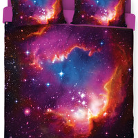 Cosmic Forces Bed Duvet Cover and Pillow Case Combo