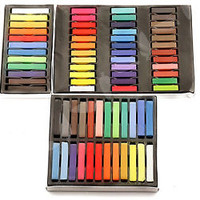 12/24/36 Colors New Fashion Temporary Hair Chalks DYE Salon Pastels Wash Out Set