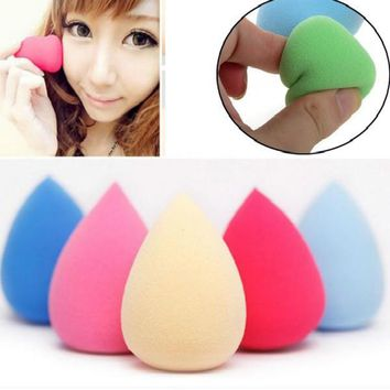 1 Randomly Color Makeup Foundation Sponge Puff