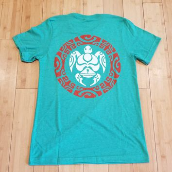 "HIC ""Tortue"" Mens Heather Green T-Shirt"