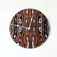 SALE Wall Clock, Copper Decor, Decor and Housewares, Wall Clocks, Home and Living, Home Decor