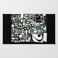 Numbers by Friztin Rug by Friztin