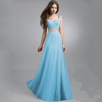 Fashion Prom Dress Ladies Sexy Sleeveless Backless Maxi Dress Formal Evening Party Date Cocktail Ball Gown Dress Bridesmaid Dress = 5841923393