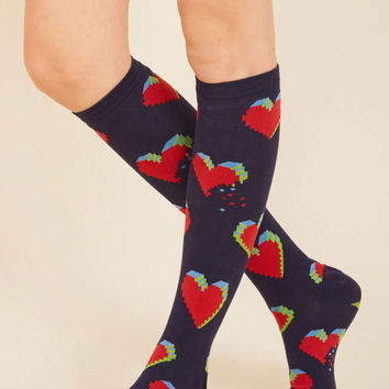 Every Cyber of My Being Socks | Mod Retro Vintage Socks | ModCloth.com