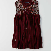 AEO Hi-Neck Swing Tank , Burgundy