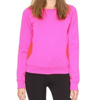 Lisa Perry Circle Pocket Sweatshirt