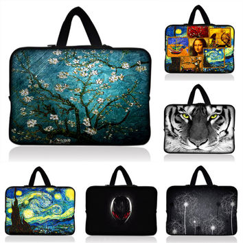 Laptop Computer Bag Notebook PC Cover For ipad for MacBook Lenovo Acer ASUS HP waterproof Sleeve Case 7 10 12 13 14 15 17 inch