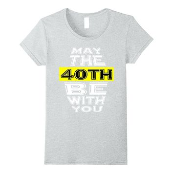 Funny 40 Years Old 40th Birthday Gift Tee Men & Women of 77