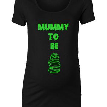 Mummy To Be Halloween Maternity Top