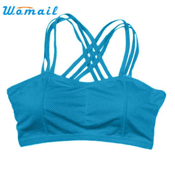 re Hot Sexy Woman Top Fitness Women Hot Racerback Bra Tank Padded Underwear Vest Crop Top