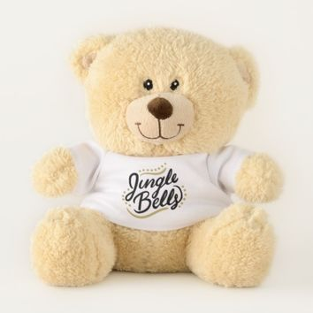 Jingle Bell Teddy Bear