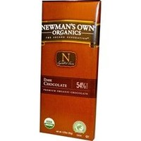 Newman's Own Organics Dark Chocolate Bar (12x3.25Oz)
