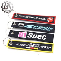 LA racing-New mugen D1 spoon password JDM keychain For Honda keychain