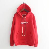 Fashion Women Winter Casual Supreme Hoodies [9391402823]