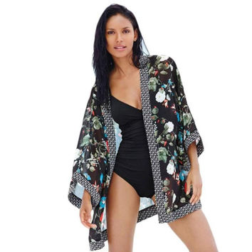 Chiffon Beach Cover Up