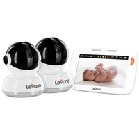 """LEVANA Willow 5"""" Touchscreen High Resolution PTZ Video Baby Monitor"""
