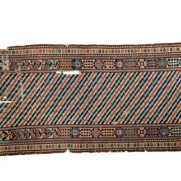 3.5x8 Antique Shirvan Rug Runner