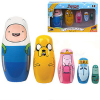 Adventure Time Nesting Doll Set | CartoonNetworkShop.com