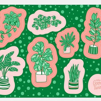 Plant Sticker Sheet