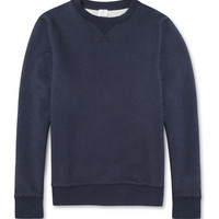 Sunspel Loopback-Cotton Sweatshirt | MR PORTER