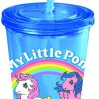 My Little Pony 16oz Cold Cup withlid & Straw