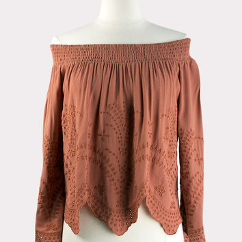 Sophia Top in Spice