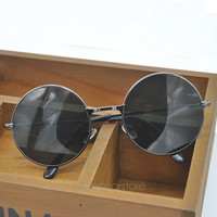 Round Metal Frame Sunglasses Original